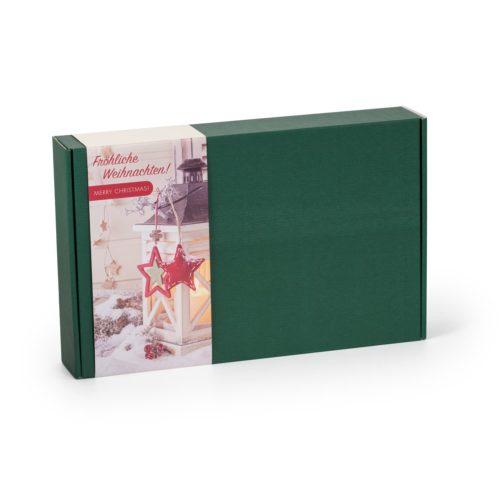 Päsentbox Weihnachten mit Inhalt aus feinster Schokolade