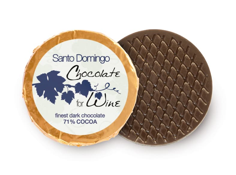 Chocolate for Wine Dublone Santo Domingo