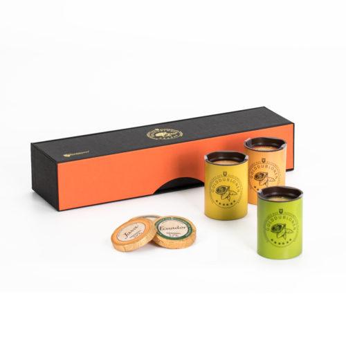 0213 Magnetpackung Elegance mit Golddublonen, 6 Sorten