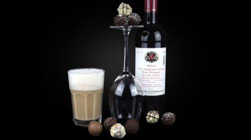 Schokolade zu Wein & Kaffee
