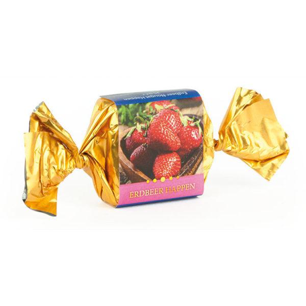 Erdbeer-Nougat Happen